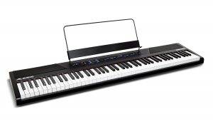 Alesis Recital 88 Key Beginner Digital Piano:Keyboard with Full Size Semi Weighted Keys,