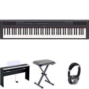 Yamaha P115 Digital Piano - Black Bundle Review