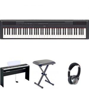 Yamaha P115 Digital Piano - Black Bundle Review