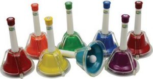 coloured hand bells for children with autism